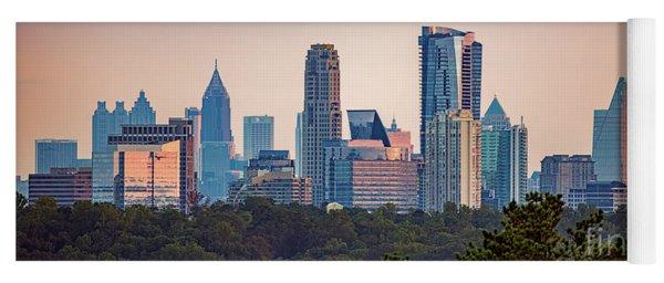 Buckhead Atlanta Skyline Yoga Mat