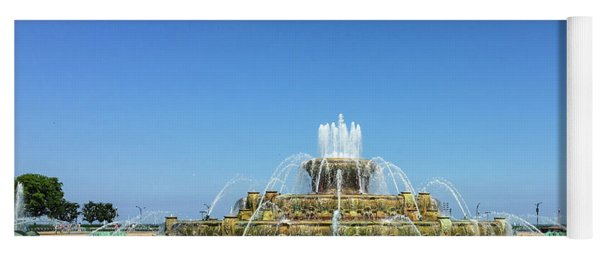 Buckingham Fountain Yoga Mat