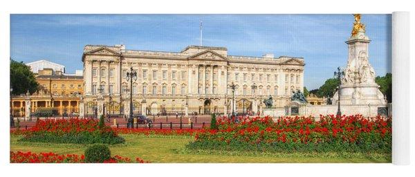Buckingham Palace And Garden Yoga Mat