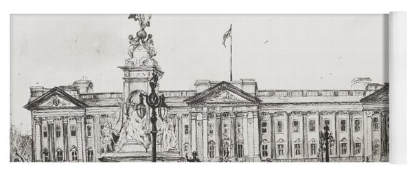 Buckingham Palace Yoga Mat