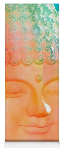 Yoga Mat featuring the photograph Buddah Glow by Cindy Greenstein