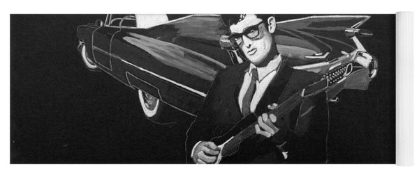 Buddy Holly And 1959 Cadillac Yoga Mat