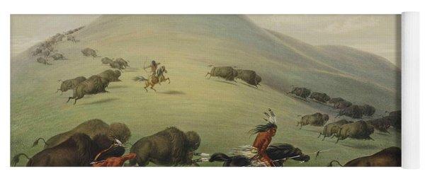 Buffalo Hunt Yoga Mat
