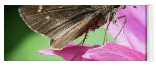 Bug On A Flower Yoga Mat