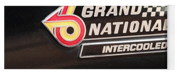Buick Grand National Emblem Yoga Mat