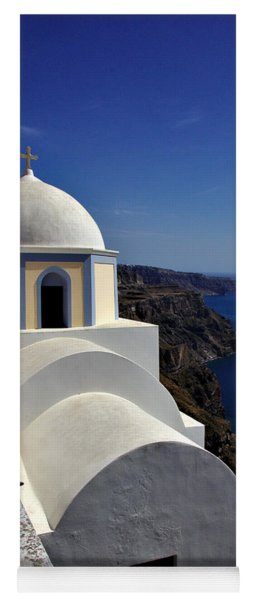 Building In Fira Yoga Mat
