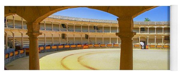 Bullfighting Arena In Spain Yoga Mat