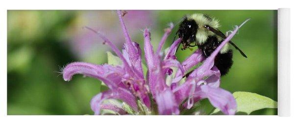 Bumblebee On Bee Balm Yoga Mat