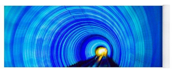 Bund Tunnel Lights Yoga Mat