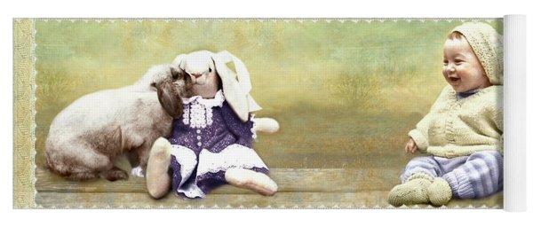 Bunny Kisses Doll Yoga Mat
