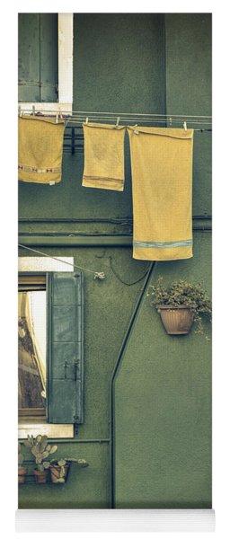 Burano - Green House Yoga Mat