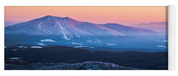Burke To Moosilauke Yoga Mat
