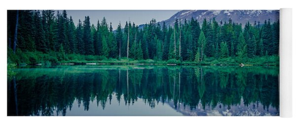 Burnt Lake Reflection Yoga Mat