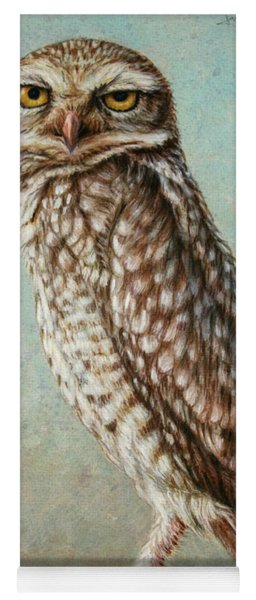 Burrowing Owl Yoga Mat