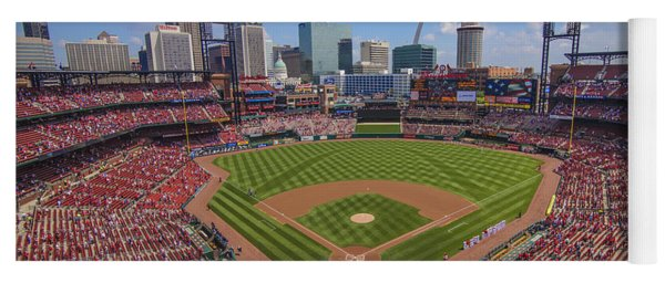 Busch Stadium St. Louis Cardinals Ball Park Village #3b Yoga Mat