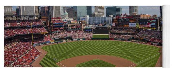 Busch Stadium T. Louis Cardinals Ball Park Village National Anthem #3a Yoga Mat