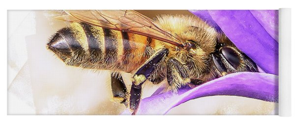 Busy As A Bee Yoga Mat
