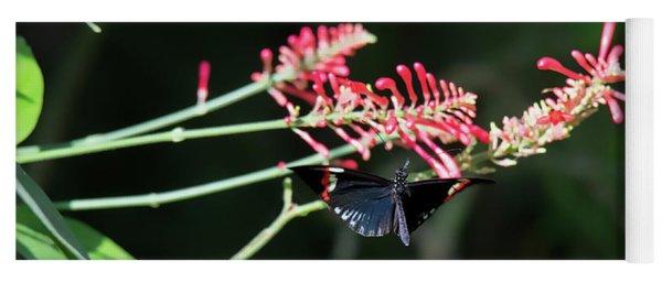 Butterfly In Flight Yoga Mat