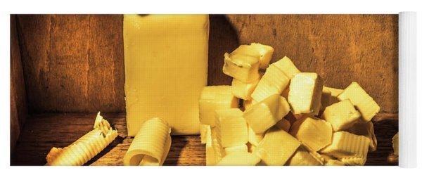 Buttering Up Yoga Mat
