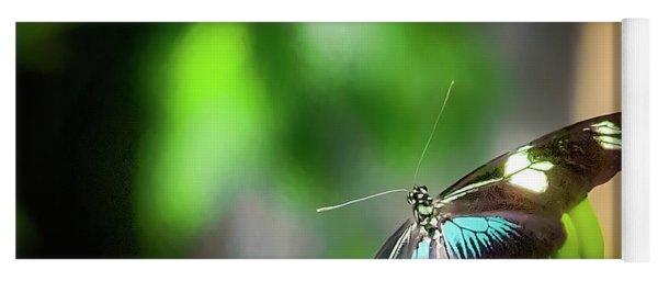Butterfly At Cleveland Botanical Gardens Yoga Mat