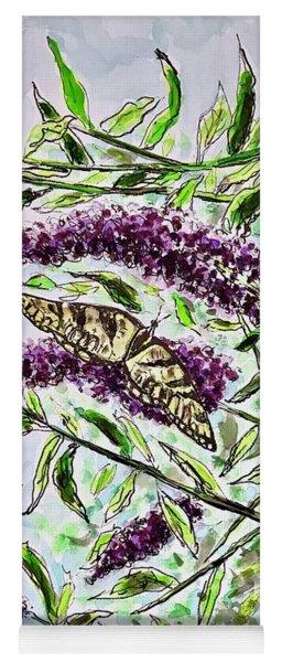 Butterfly Bush Yoga Mat