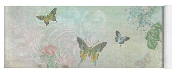 Butterfly Dreams Yoga Mat