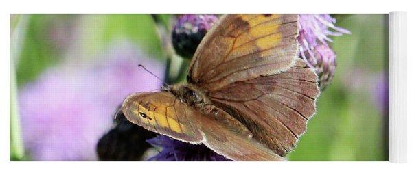 Butterfly Photograph  Yoga Mat