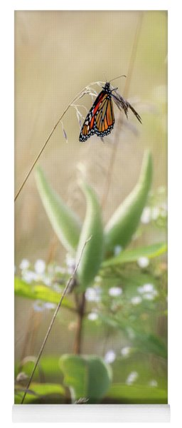 Yoga Mat featuring the photograph Butterfly Paradise by Bill Wakeley