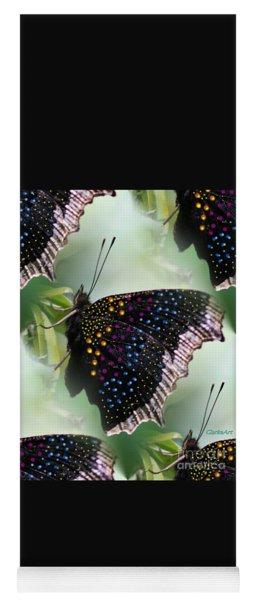 Butterfly Sunbath #2 Yoga Mat