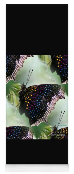 Butterfly Sunbath #2 Yoga Mat