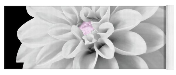 Bw Dahlia And Touch Of Pink Yoga Mat