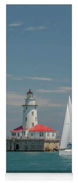 By The Lighthouse Yoga Mat