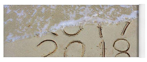 Bye Bye 2017 Welcome2018 Yoga Mat