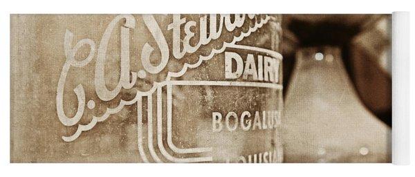 C.a. Stewart's Dairy Milk Jug Yoga Mat