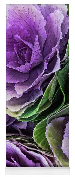Cabbage Flower Yoga Mat