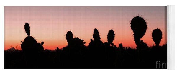 Sonora Desert Sunset Yoga Mat