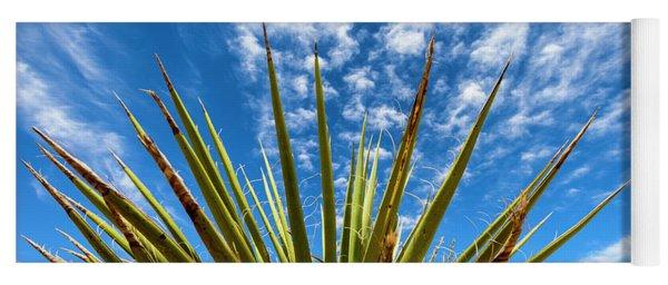 Cactus And Blue Sky Yoga Mat