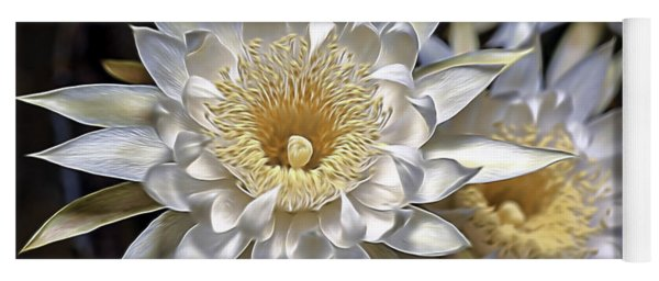 Cactus Art Yoga Mat