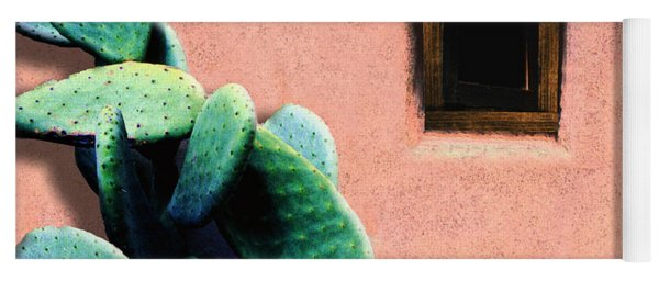 Yoga Mat featuring the photograph Cactus by Paul Wear