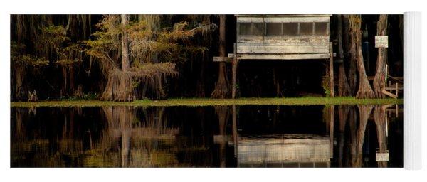 Caddo Lake Boathouse Yoga Mat