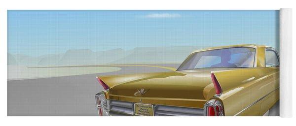Cadillac De Ville Yoga Mat