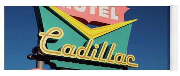 Cadillac Motel Yoga Mat