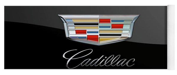 Cadillac New Badge - Luxury Edition On Black Yoga Mat
