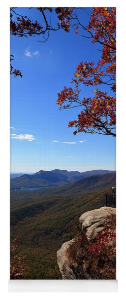 Caesars Head State Park In Upstate South Carolina Yoga Mat