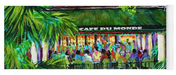 Cafe Du Monde Morning Yoga Mat