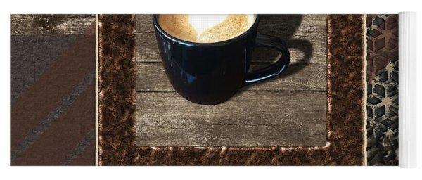 Cafe Latte - Coffee Art Yoga Mat