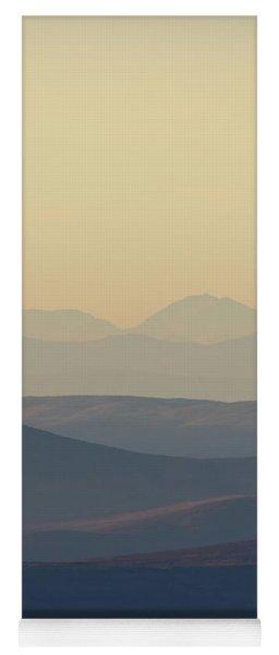 Cairngorms Sunset Yoga Mat