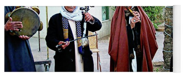 Cairo Musicians - Cairo, Egypt Yoga Mat