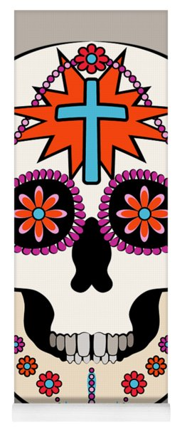 Calavera Graphic Yoga Mat