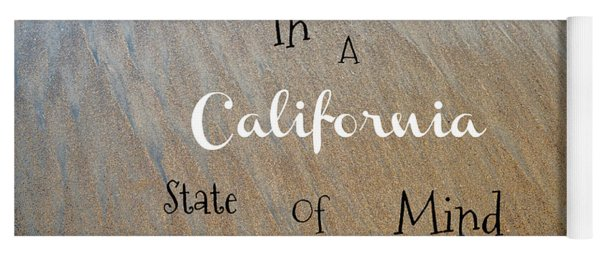 Cali State Of Mind Yoga Mat